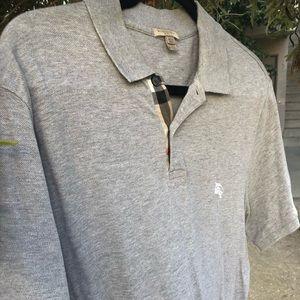 Men's Burberry Brit Polo Shirt, Size XL